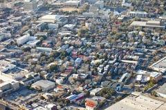 Aerial city. Aerial view of city of Charleston South Carolina Stock Image