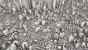 Aerial city Stock Photos