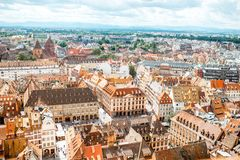 Strasbourg city in France Royalty Free Stock Photos