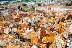 Strasbourg city in France Stock Images