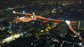 Aerial cityscape view of Victory Monument Royalty Free Stock Photos