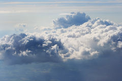 Aerial Cloud View Royalty Free Stock Images