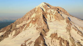 Aerial Clouds Mt Hood Royalty Free Stock Photos