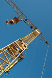 Aerial construction crane Royalty Free Stock Photography