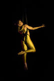 Aerial contortion Stock Photo