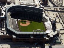 Aerial Coors Field - Colorado Rockies Baseball Royalty Free Stock Photography