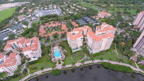 Aerial Deering Bay Miami drone video Stock Images