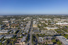 Aerial Delray Beach, Florida. Aerial, Bird Eye View from Delray Beach, USA Stock Photo