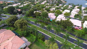 Aerial Doral Florida flyover stock video footage