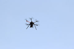 The aerial drone Royalty Free Stock Photos