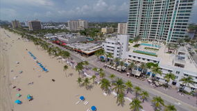 Aerial drone Fort Lauderdale Florida Royalty Free Stock Images