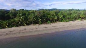 Idyllic island shot using a drone stock video footage