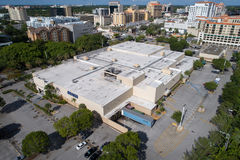 Aerial image Sears Coral Gables stock photos