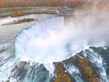 Aerial drone photo Niagara Falls Stock Image