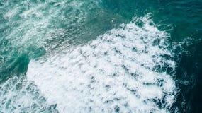 Sea wave surface stock photo