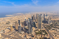Aerial Dubai Royalty Free Stock Images