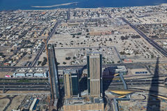Aerial Dubai Stock Photography