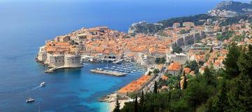 Aerial Dubrovnik Stock Photo