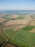 Aerial farmland Royalty Free Stock Image