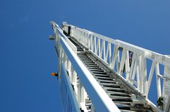 Aerial Fire Ladder stock images