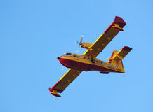 Aerial firefighting Stock Images