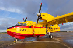 Aerial firefighting Royalty Free Stock Photos