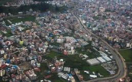 Nepal city in Sep 2017 Stock Photo
