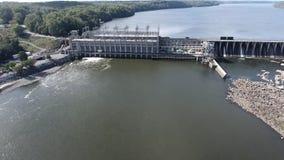 Aerial Footage Conowingo Dam, Conowingo Maryland