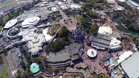 Aerial footage of Disney