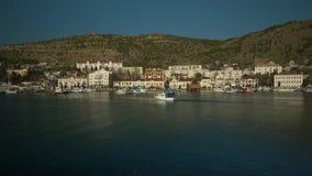 Port coast. Aerial footage Port coast HD stock footage