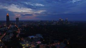 Aerial Georgia Atlanta stock video footage
