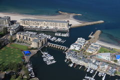 Aerial of glenelg Stock Photos