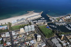 Aerial of glenelg Royalty Free Stock Image