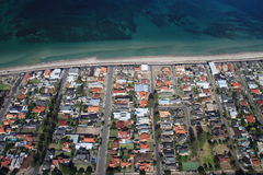 Aerial of glenelg Royalty Free Stock Photos