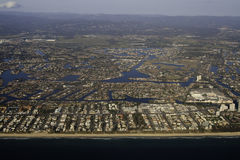Aerial Gold Coast Stock Photo