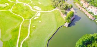 Aerial golf course county club Austin, Texas, USA Stock Photography