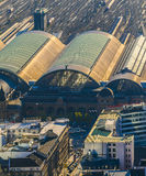 Aerial of the Hauptbahnhof Stock Image