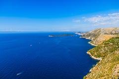 Dubrovnik surroundings Stock Images