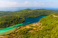 Mljet Royalty Free Stock Photography