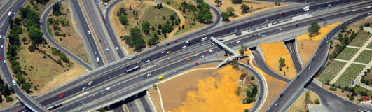 Free Aerial Highway Interchange Stock Photo - 10392250