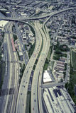 Aerial highway system Royalty Free Stock Images