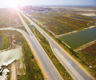 Aerial highways Stock Photography
