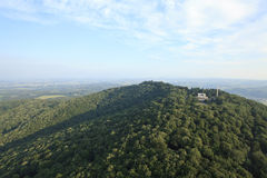 Aerial hill Royalty Free Stock Photography
