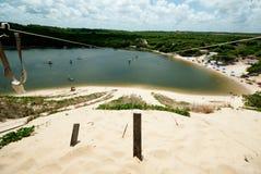 Aerial hinding, Natal.Brazil Royalty Free Stock Image