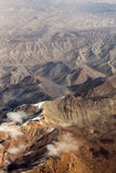 Aerial of the Hindu Kush Stock Photo