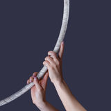 Aerial hoop concept Royalty Free Stock Images