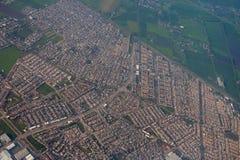 Aerial houses Stock Photo