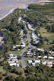 Aerial of housing Royalty Free Stock Images