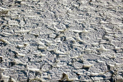 Aerial of ice on the Hudson Bay Royalty Free Stock Photos