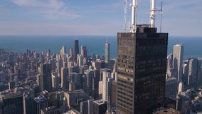 Aerial Illinois Chicago July 2017 Sunny Day 4K Inspire 2